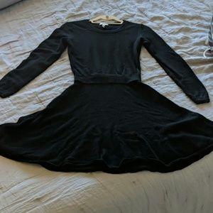 f589cf2b0 Joie Black Wool Cashmere Longsleeve Dress